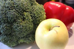 Brokkoli Apfel Paprika