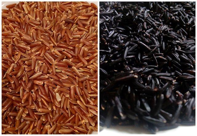 Wie kocht man roten und schwarzen Reis