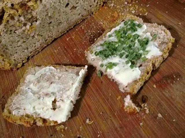 Ein leckeres, frisches, glutenfreies Brot