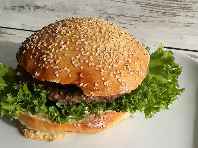 Burger Buns mit Buttermilch für Burger