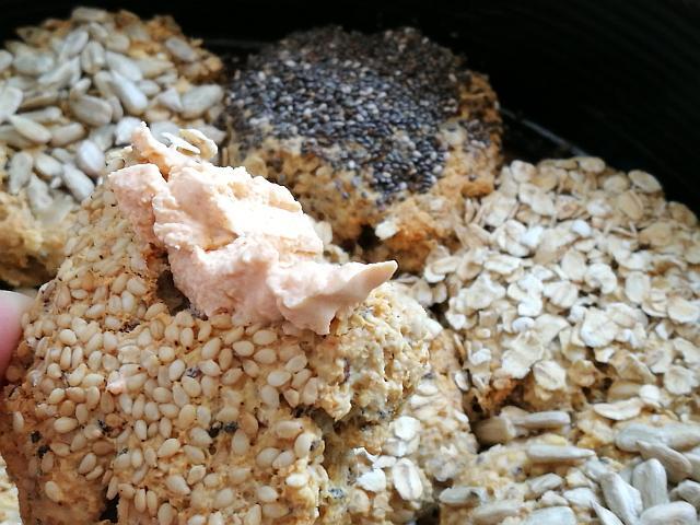 Glutenfreie Haferflockenbrötchen