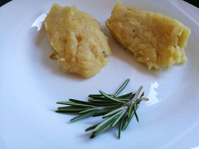 Pastinaken-Kartoffel-Stampf als Beilage