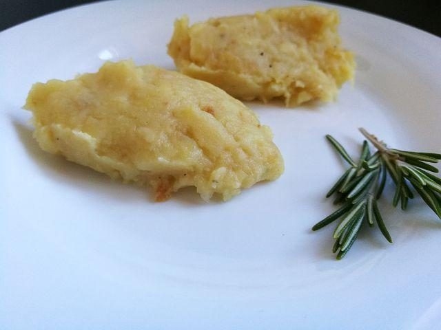 Pastinaken-Kartoffel-Stampf